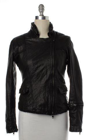 ALLSAINTS ALL SAINTS Black Altamont Leather Moto Jacket