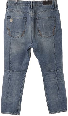 ALLSAINTS ALL SAINTS Blue Distressed Skinny Jeans