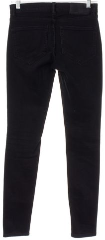 ALLSAINTS ALL SAINTS Black Faded Rocco Hart Ashby Moto Skinny Jeans