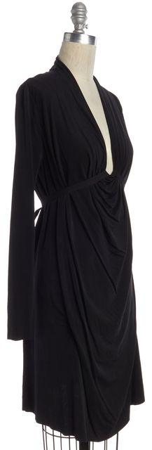 ALLSAINTS Black Long Sleeve Shift Dress