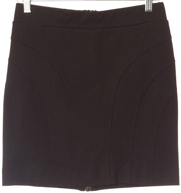 ALLSAINTS Black Neville Mini Skirt