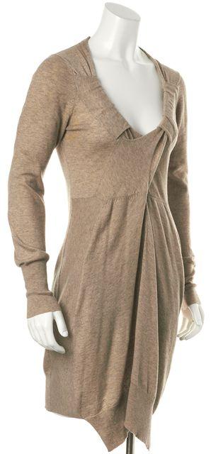ALLSAINTS Beige Wool Symphony Sweater Dress