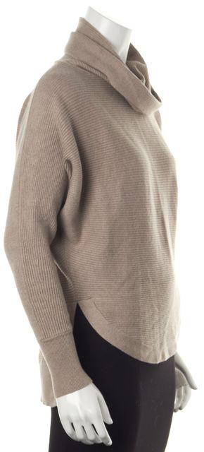 ALLSAINTS Beige Wool Cowl Neck Sweater