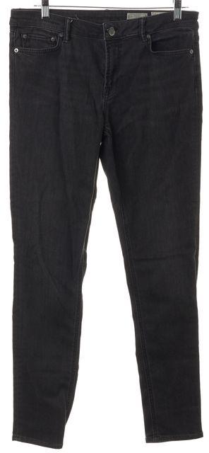 ALLSAINTS Black Mast Low Rise Skinny Jeans