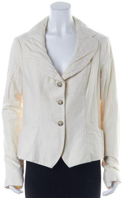 ALLSAINTS Ivory Cotton Cricket Pocket Front Basic Jacket