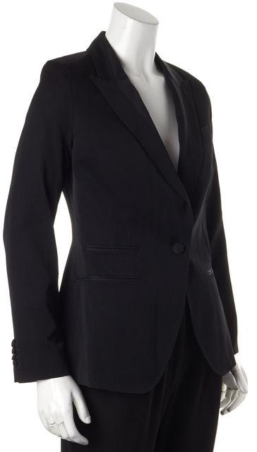 ALLSAINTS Black Wool One Button Blazer US 6 UK 10