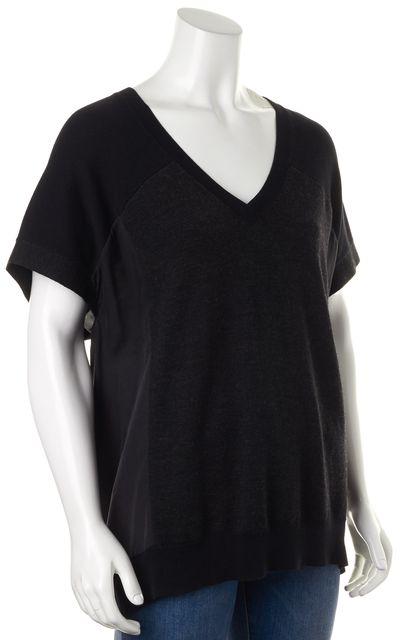 ALLSAINTS Black Wool Knit Top