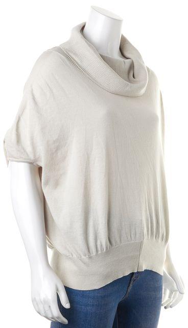 ALLSAINTS Gray Dolman Sleeve Cowl Top