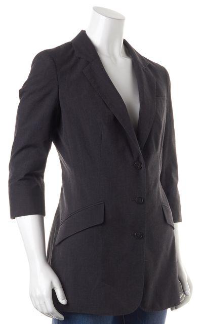 ALLSAINTS Gray Wool Claxon Blazer Jacket