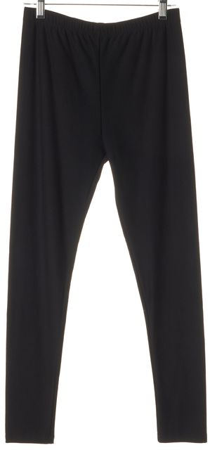 ALLSAINTS Black Nylon Capris Stretch Leggings
