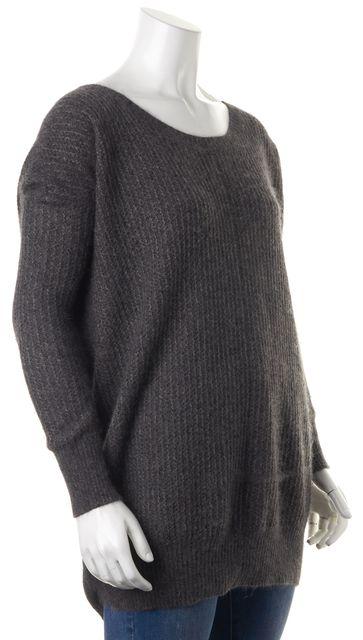 ALLSAINTS Gray Boat Neck Sweater US 4 UK 8