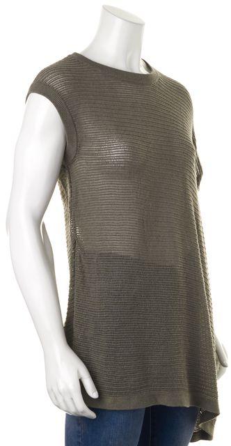 ALLSAINTS Gray Knit Top