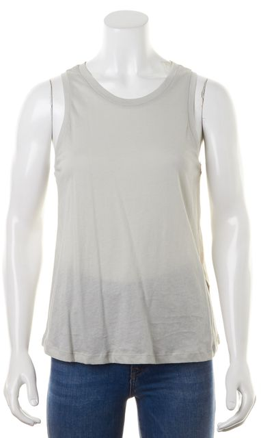 ALLSAINTS Gray Alisa Sleeveless Crewneck Tank Top