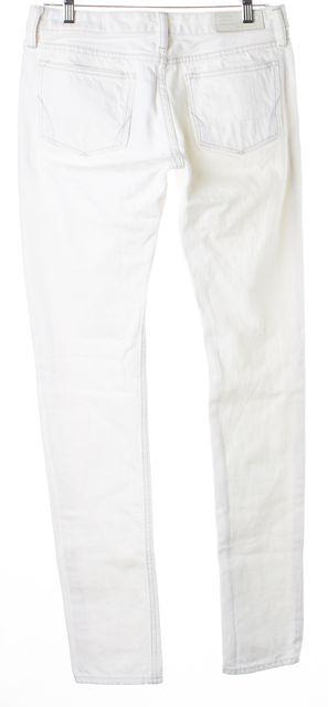 ALLSAINTS White Cotton Denim Sendo Drainpipe Skinny Jeans