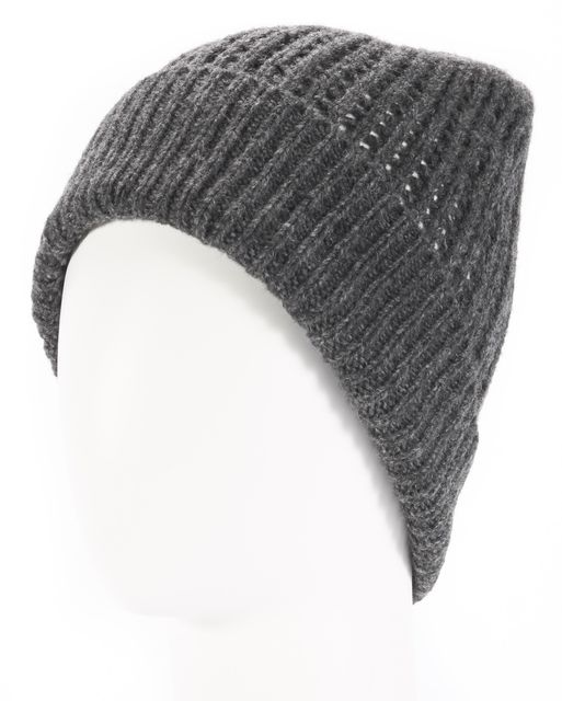 ALLSAINTS Gray Wool Beanie Hat