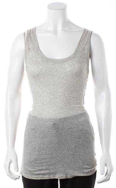 ALLSAINTS Heather Gray Pious Vest Tank Top