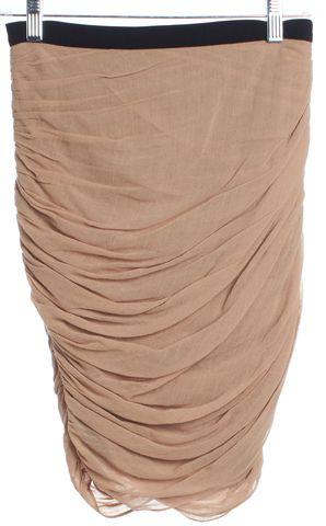 ALEXANDER WANG Beige Straight Skirt Size 4