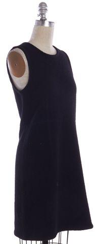 ALEXANDER WANG Black Wool Shift Dress Size M