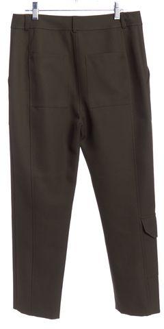 ALEXANDER WANG Olive Green Slim Crop Pants Size 0