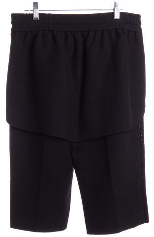 ALEXANDER WANG Black Capri Casual Shorts Size 6