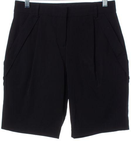 ALEXANDER WANG Black Long Shorts Size 4