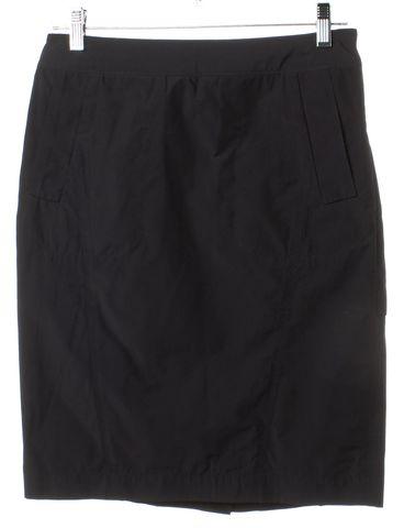 ALEXANDER WANG Black Pencil Skirt Fits Like Size M