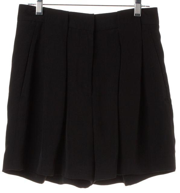 ALEXANDER WANG Black Dress Shorts