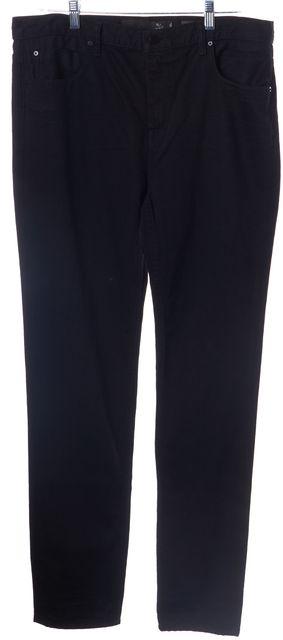 ALEXANDER WANG Black Mid-Rise Skinny Jeans