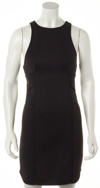 ALEXANDER WANG X H&M Black Neoprene Racerback Bodycon Mini Dress