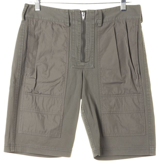 ALEXANDER WANG Olive Green Casual Cargo Shorts