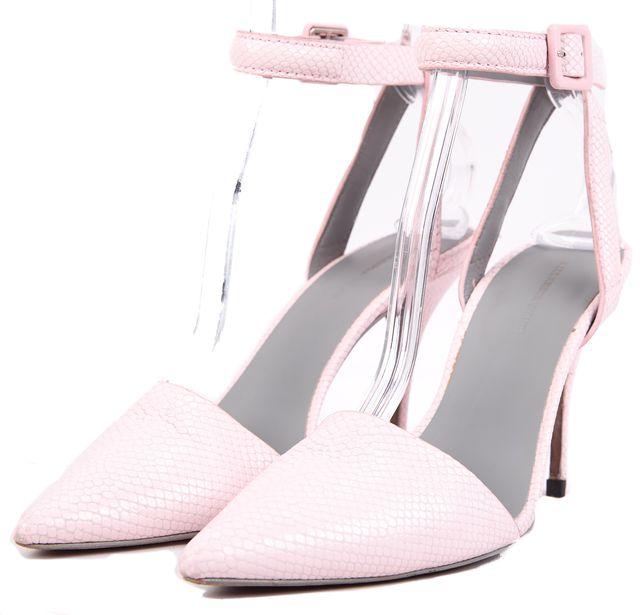 ALEXANDER WANG Gummy Lovisa Ankle Strap Pump Heels