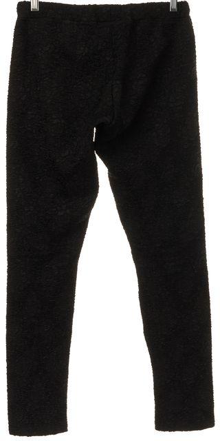 ALEXIS Black Textured Leggings Pants