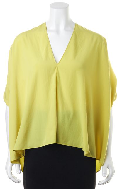 ALEXIS Yellow Batwing Blouse