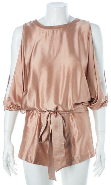 ALEXIS Pink Silk Jumpsuit/ Romper