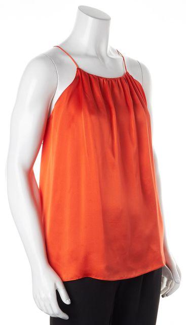ALEXIS Orange Black Lace Blouse
