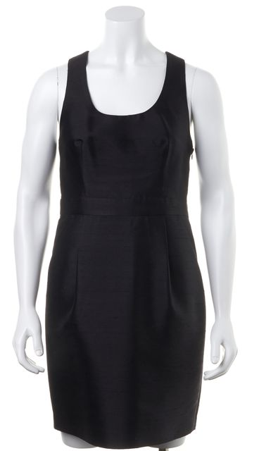 APIECE APART Black Silk Casual Sleeveless Sheath Dress
