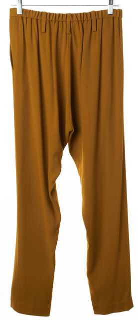 APIECE APART Mustard Yellow Pleated Harem Pants