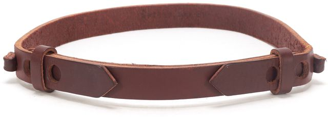 APIECE APART Brown Leather Belt