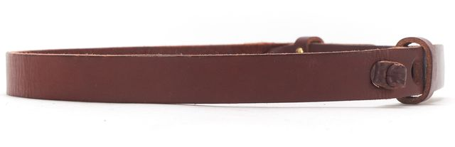 APIECE APART Brown Leather Belt