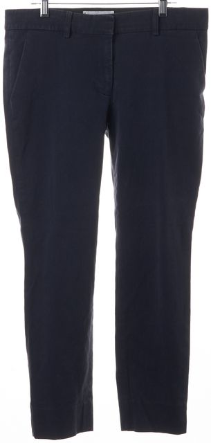 APIECE APART Blue Stretch Cotton Trouser Dress Pants