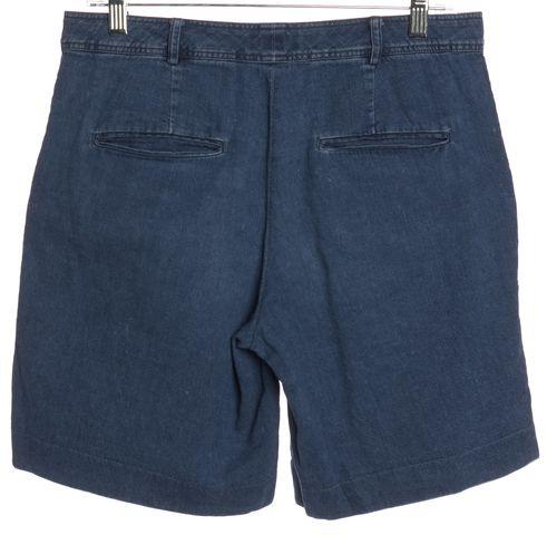 A.P.C. Blue Denim Shorts