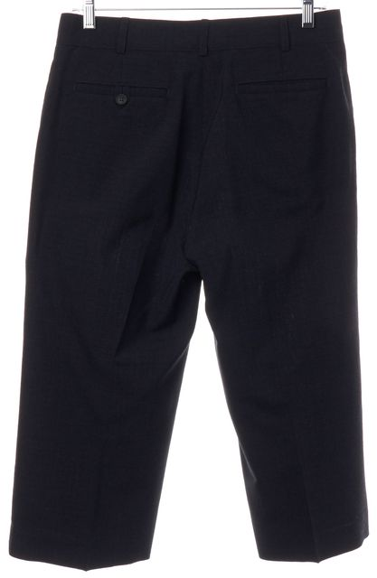 A.P.C. Gray Wool Cropped Trousers