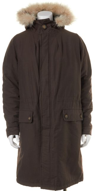 A.P.C. Brown Parka Coat