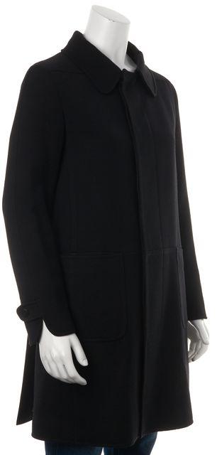 A.P.C. Black Wool Jacket Coat