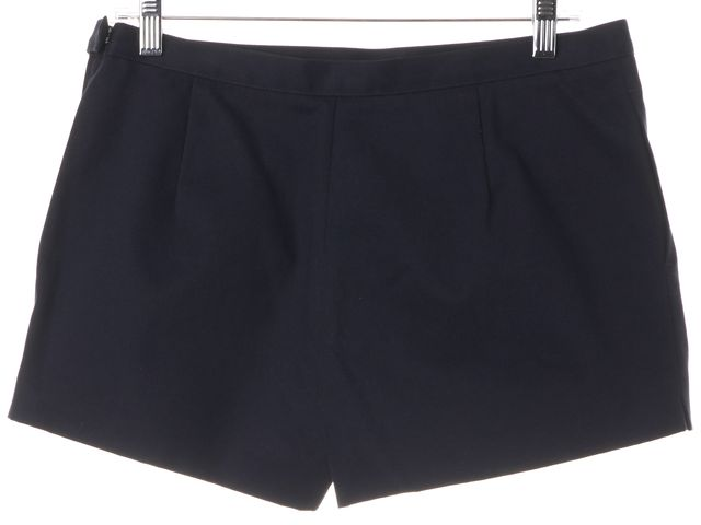 A.P.C. Navy Blue Cotton Casual Shorts