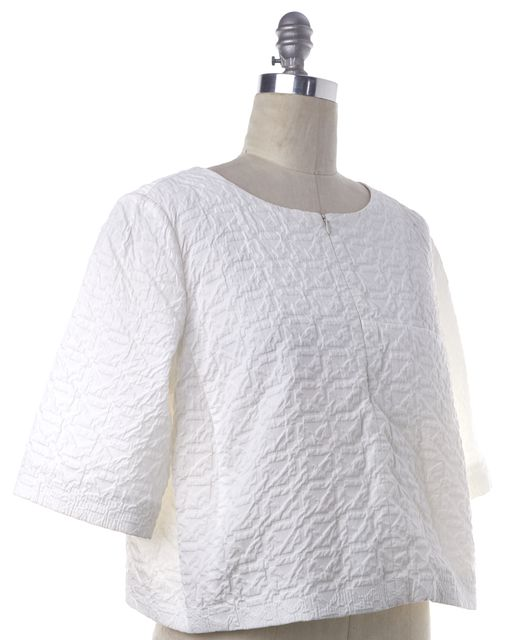 ARMANI COLLEZIONI White Blouse Top