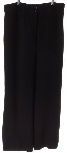 ARMANI COLLEZIONI Black Antinea Srl Dress Trouser Pants