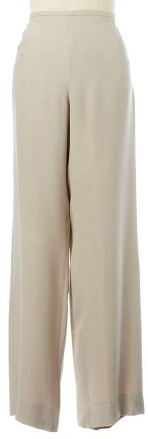 ARMANI COLLEZIONI Beige Dress Pants