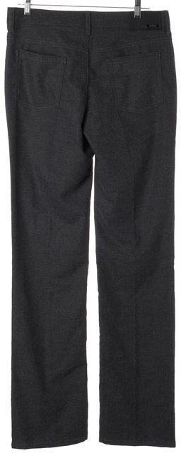 ARMANI COLLEZIONI Gray Wool Casual Pants