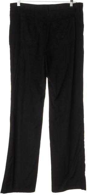 ARMANI COLLEZIONI Black Corduroys Pants